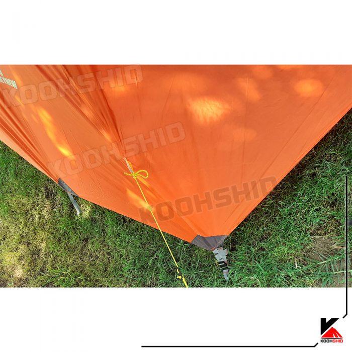 چادر دوپوش ضد آب کوهنوردی 2تا3 نفره اورجینال کله گاوی مدل Pekynew c2001