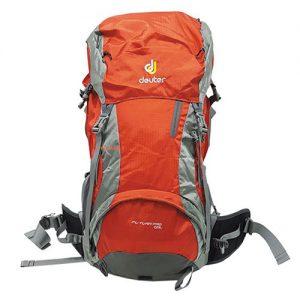 کوله کوهنوردی طرح دیوتر deuter futura pro 45L. رنگ نارنجی وزن 1.430 کیلو گرم