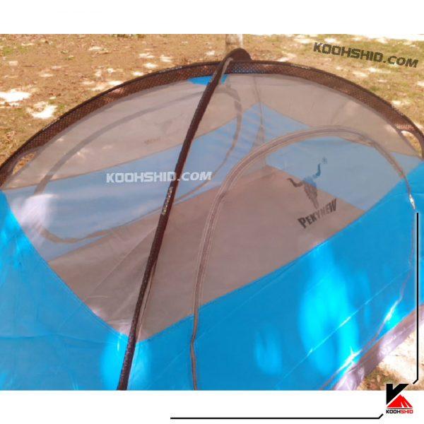 چادر دوپوش ضد آب کوهنوردی 2 نفره اورجینال کله گاوی مدل Pekynew c1001