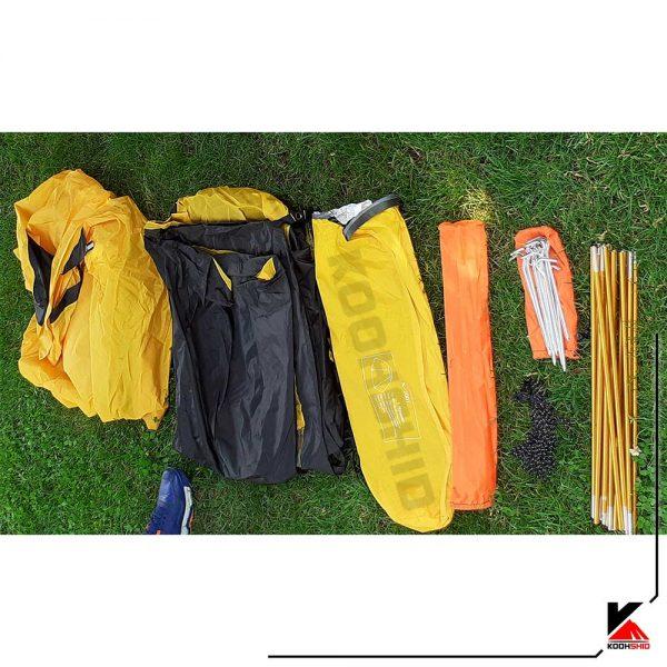 چادر دوپوش ضد آب کوهنوردی 2تا3 نفره اورجینال کله گاوی مدل Pekynew k2001چادر دوپوش ضد آب کوهنوردی 2تا3 نفره اورجینال کله گاوی مدل Pekynew k2001