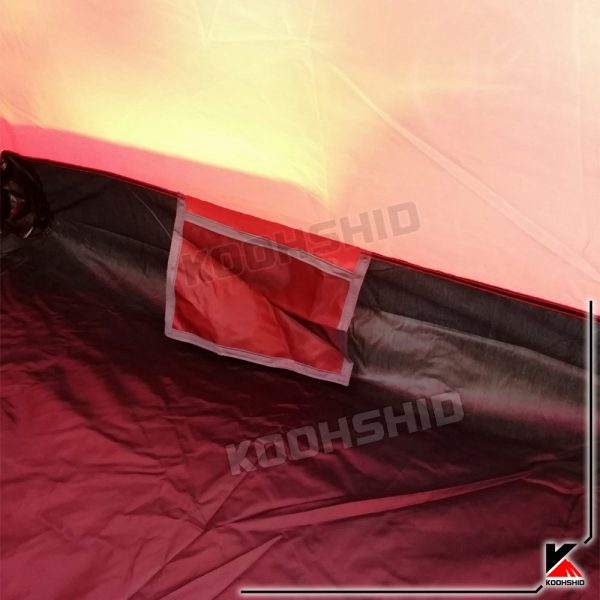 چادر دوپوش ضد آب کوهنوردی یک نفره اورجینال کله گاوی مدل Pekynew k2002