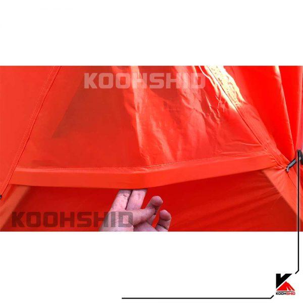 چادر دوپوش ضد آب کوهنوردی 2 نفره اورجینال کله گاوی مدل Pekynew k2009