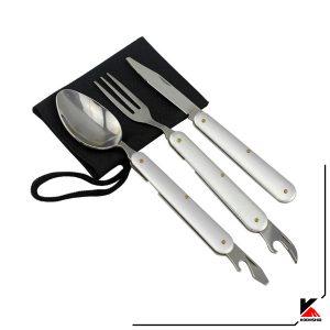 قاشق چنگال و چاقوی تاشو