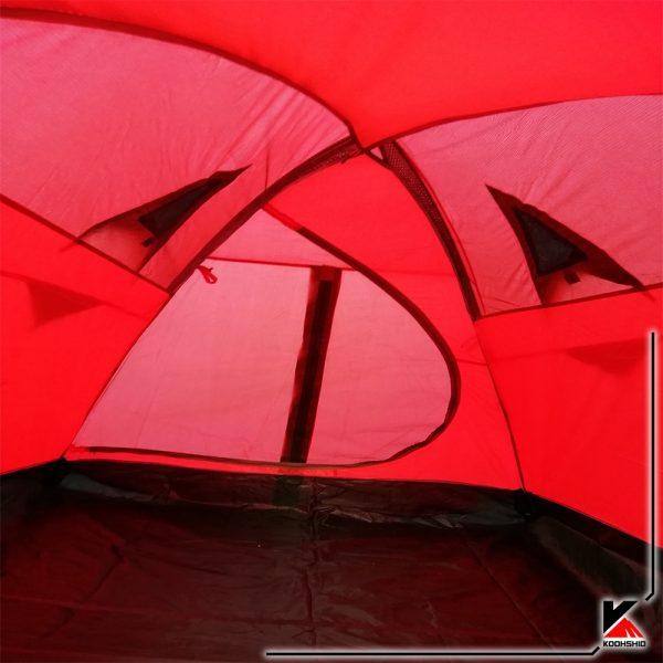 تصویر داخل چادر سه نفره کله گاوی مدل K2019