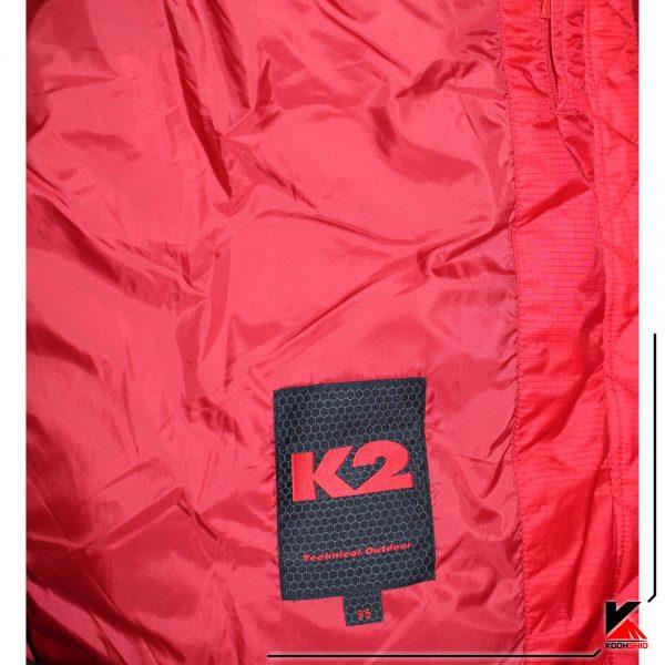 کاپشن کوهنوردی پر مدل K2