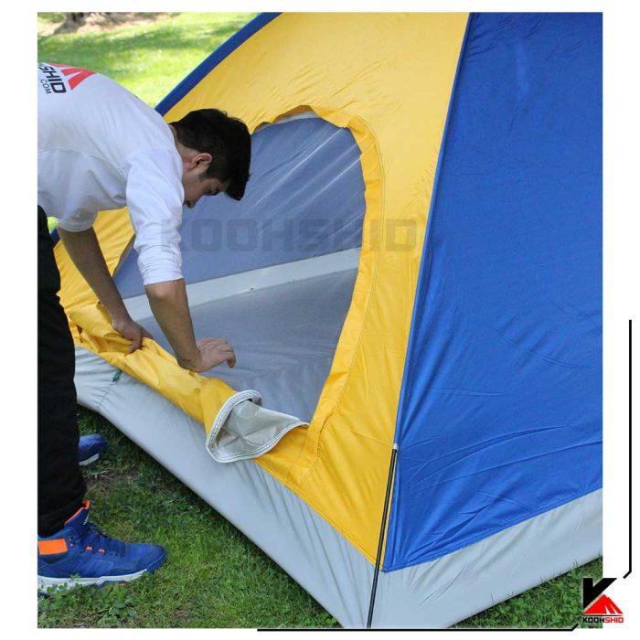 چادر ارزان قیمت کوهنوردی (طبیعت گردی) 6 نفره تک پوش