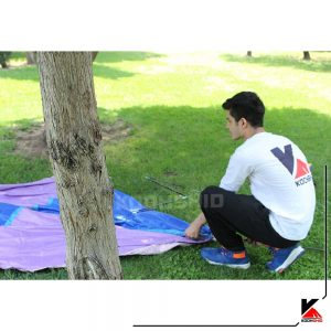 چادر ارزان قیمت کوهنوردی و کمپینگ 3تا4 نفره تک پوش