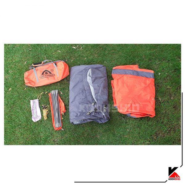 چادر دو پوش ضد آب کوهنوردی یک نفره اورجینال آیوان مدل 8868 Ai ONE