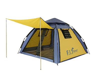 چادر اتوماتیک دو پوش 6 نفره عصایی F.I.T مدل AT4