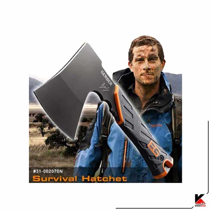 تبر گربر Survival Hatchet