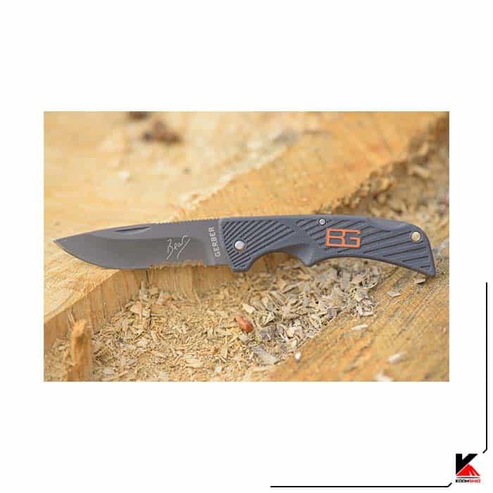 چاقو شکاری گربر تاشو مدل GERBER 115