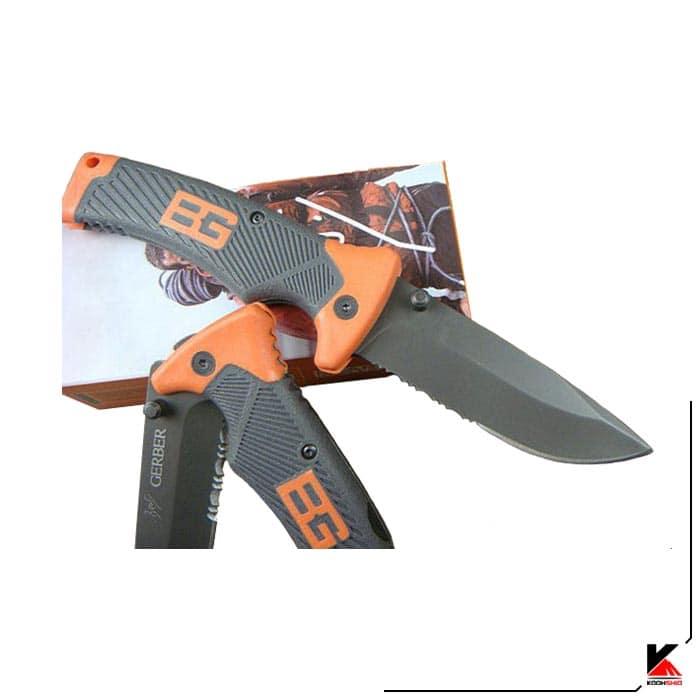 چاقو شکاری گربر تاشو مدل GERBER 113
