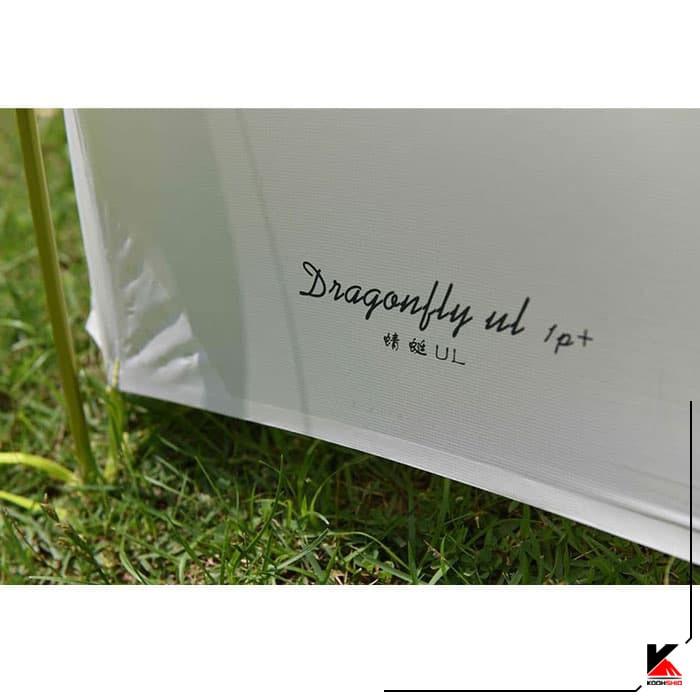 چادر دو پوش تک نفره کایلاس مدل Dragonfly UL Tunnel Tent 1P