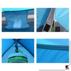 چادر کوهنوردی 3-4 نفره کله گاوی (پکینیو) مدل PKN c2006