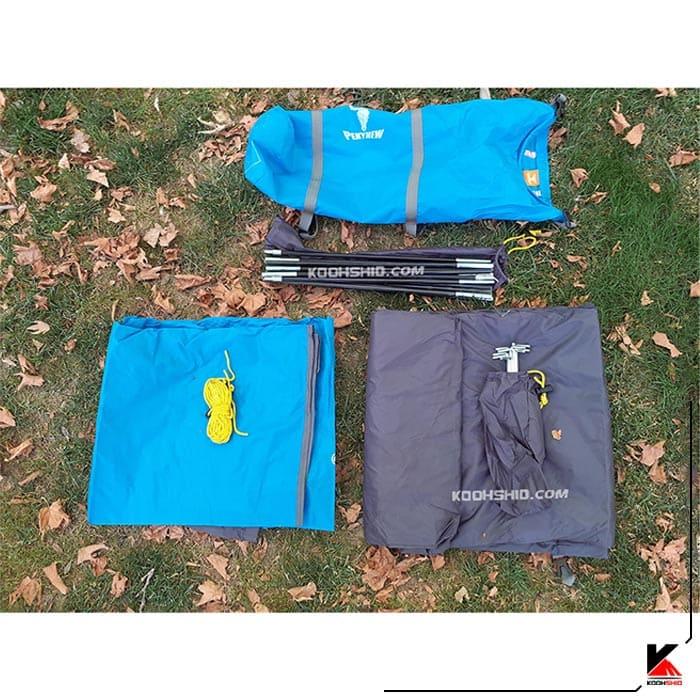 چادر کوهنوردی 2 نفره کله گاوی (پکینیو) مدل PKN c1001