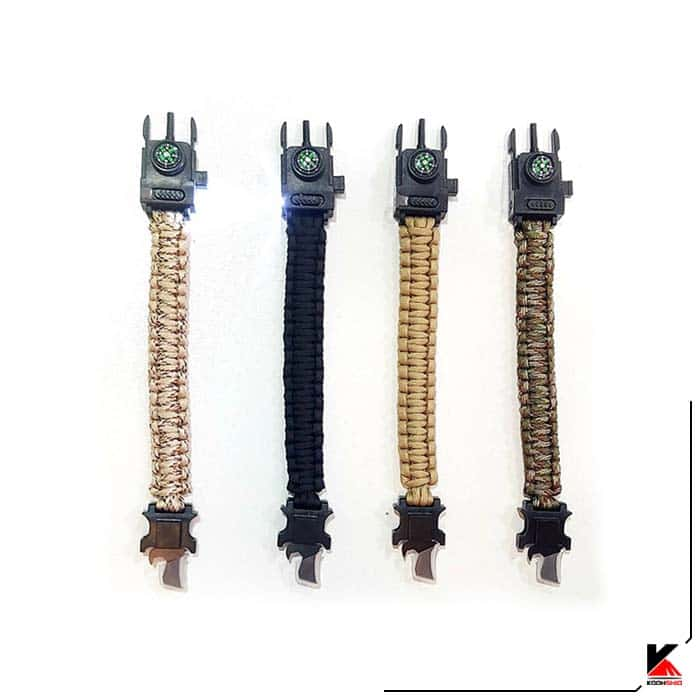 دستبند پاراکورد چراغ بغل