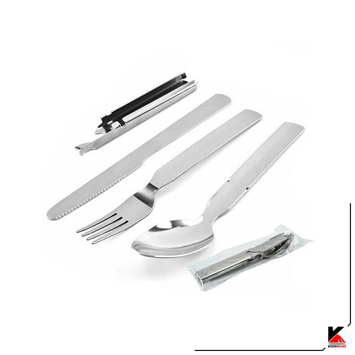 ست چاقو قاشق چنگال استیل