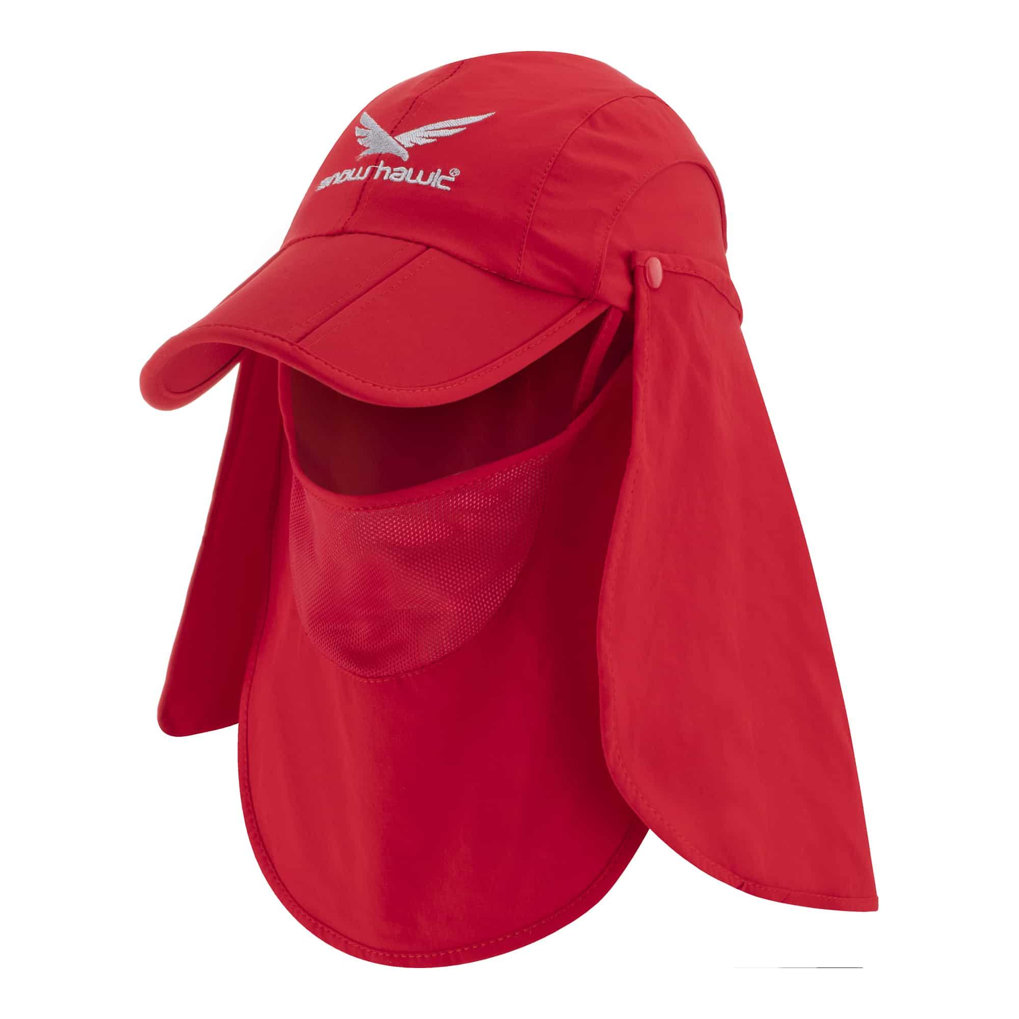 Neck-protection Snowhawk three-piece sun hat